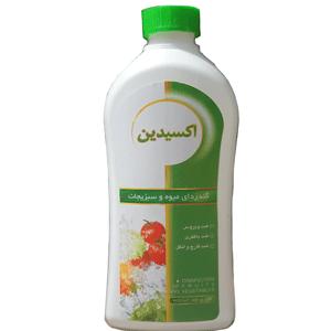 ضدعفونی میوه و سبزی