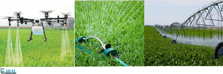 Agricultural irrigation methods