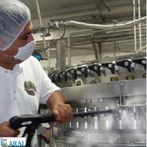 ضدعفونی کننده های رایج در صنایع لبنی و غذایی