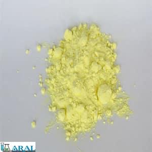 به عنوان یک عنصر خالص به شکل پودر زرد و به صورت کریستال ظاهر می شود